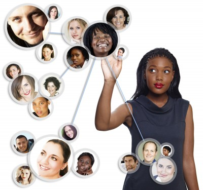 Networking image women